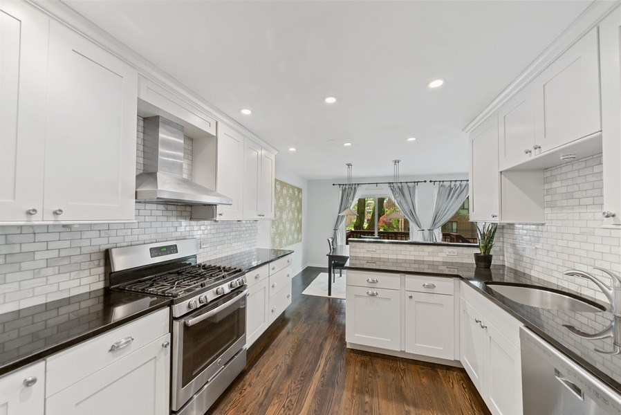 Real Estate Photography - 1649 N. Vine, Chicago, IL, 60614 - Kitchen