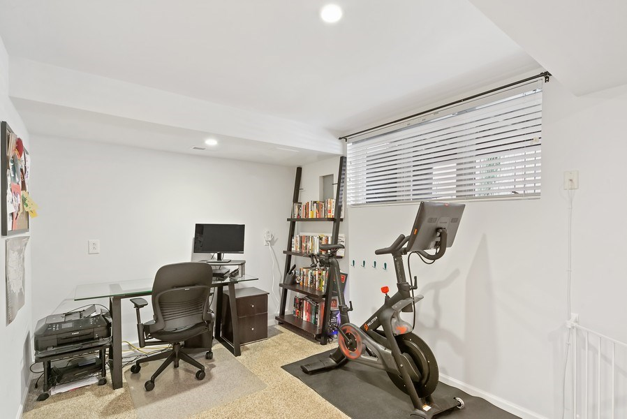 Real Estate Photography - 1649 N. Vine, Chicago, IL, 60614 - Fourth Bedroom