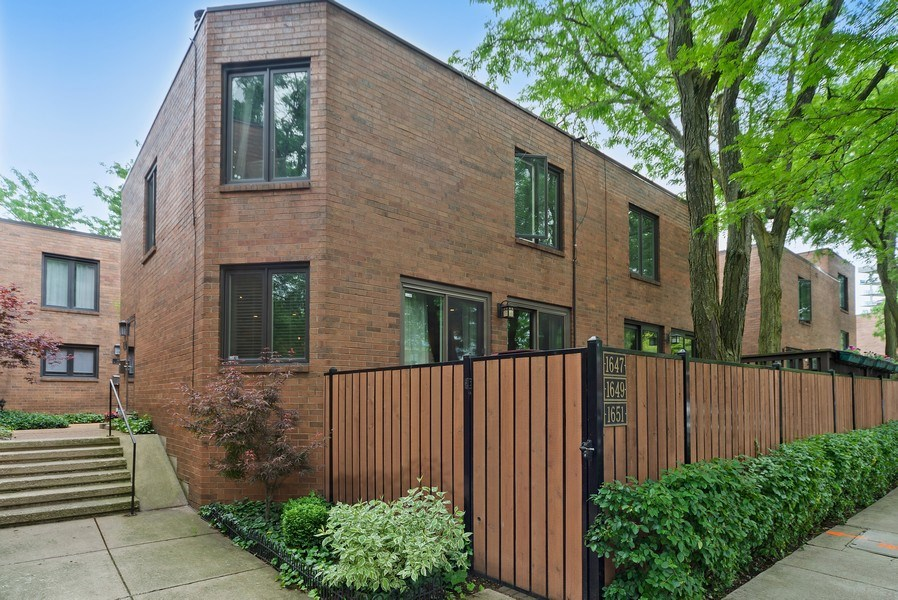 Real Estate Photography - 1649 N. Vine, Chicago, IL, 60614 - Front View