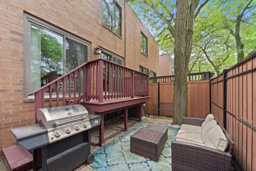 Real Estate Photography - 1649 N. Vine, Chicago, IL, 60614 - Patio