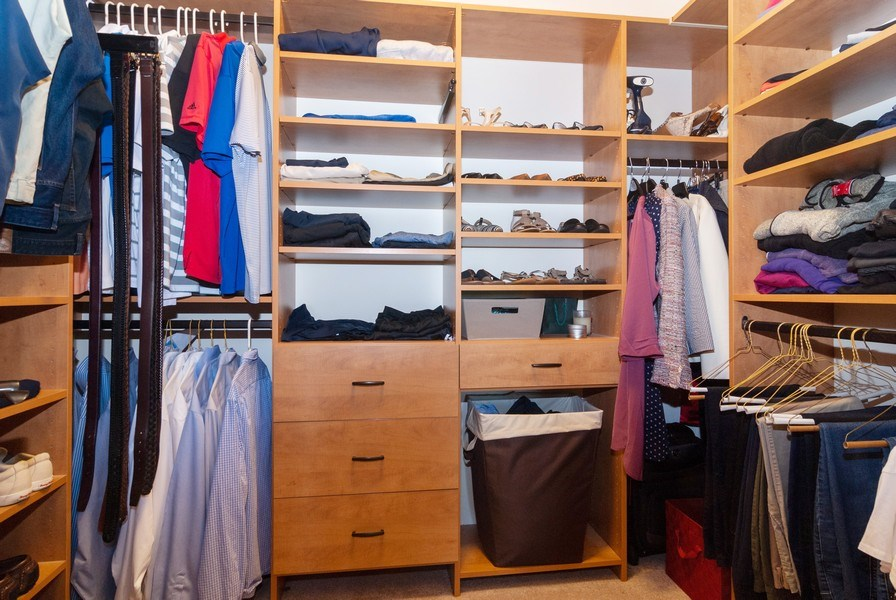 Real Estate Photography - 00N678 King Drive, Geneva, IL, 60134 - Master Bedroom Closet