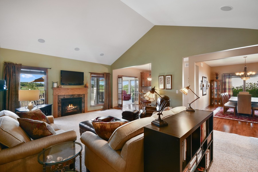 Real Estate Photography - 00N678 King Drive, Geneva, IL, 60134 - Family Room