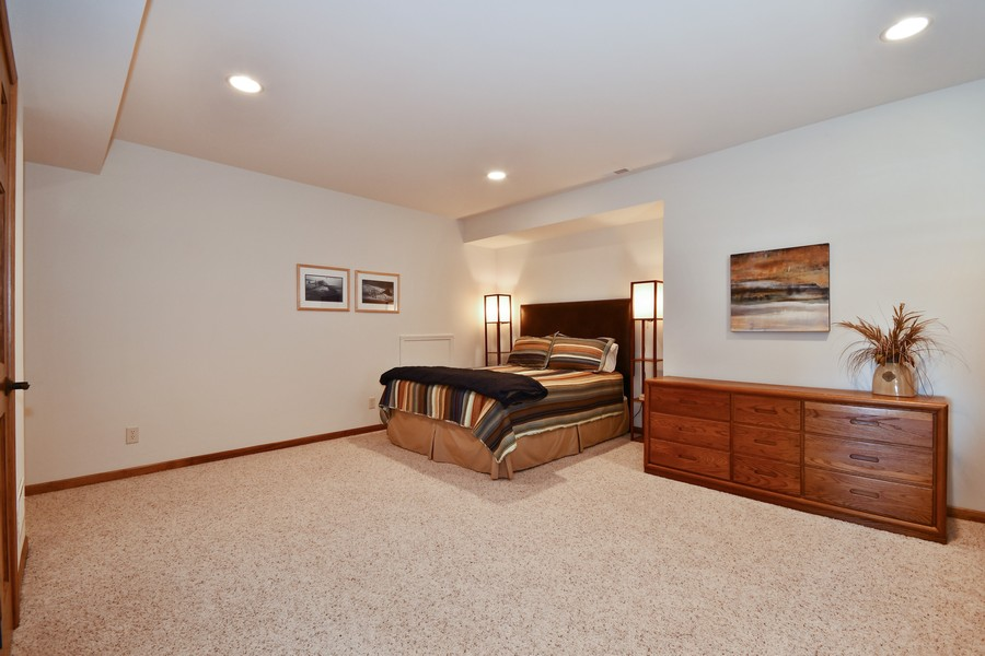 Real Estate Photography - 00N678 King Drive, Geneva, IL, 60134 - 4th Bedroom Walk Out Basement