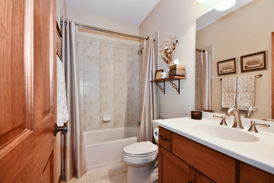 Real Estate Photography - 00N678 King Drive, Geneva, IL, 60134 - Full Bathroom in Walk Out Basement