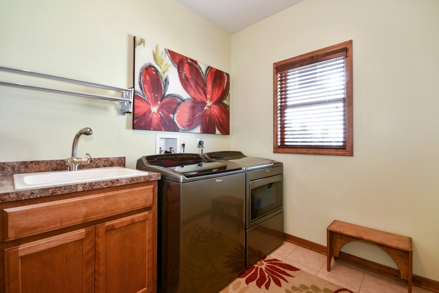 Real Estate Photography - 00N678 King Drive, Geneva, IL, 60134 - 1st Floor Laundry Room