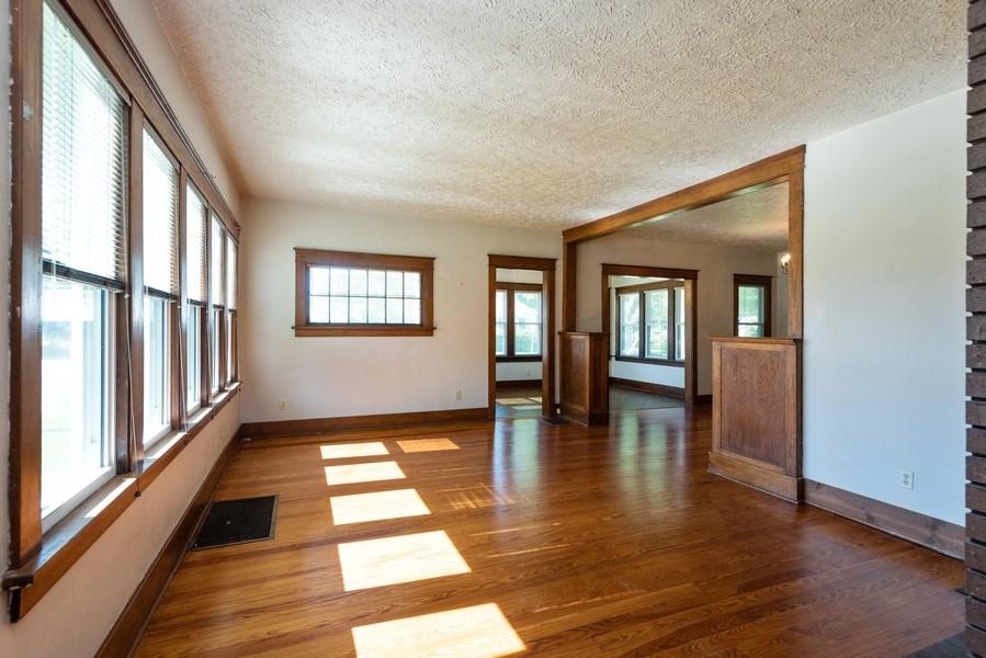 Real Estate Photography - 907 N Main Street, Watervliet, MI, 49098 - Living Room
