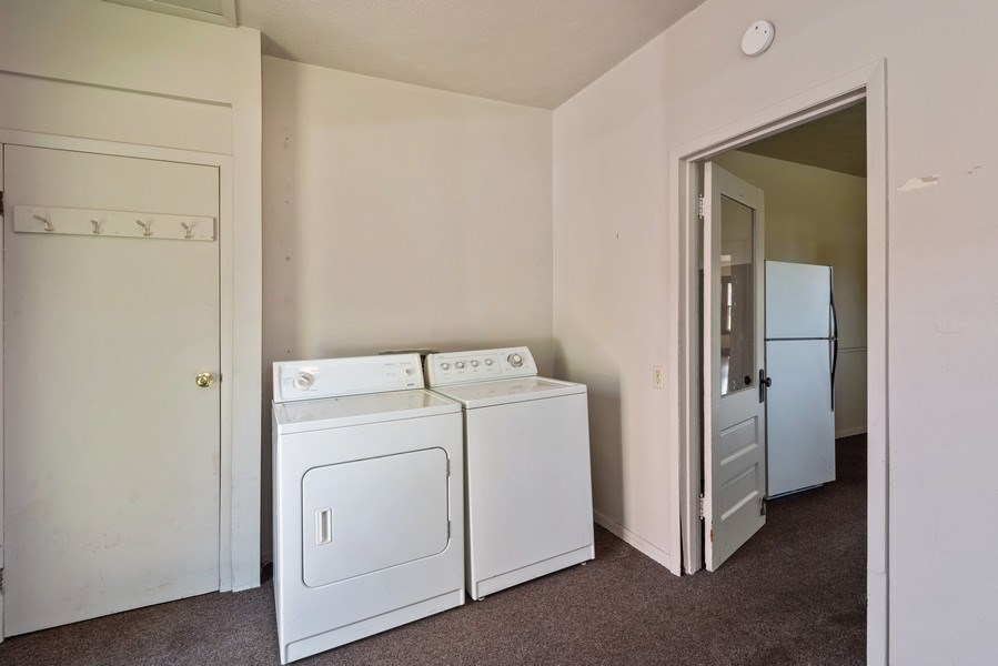 Real Estate Photography - 907 N Main Street, Watervliet, MI, 49098 - Laundry Room