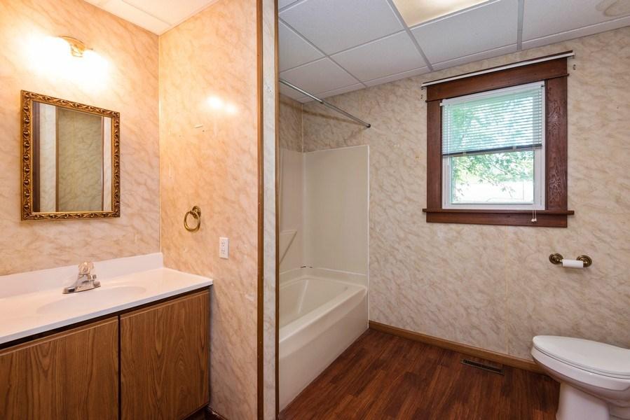 Real Estate Photography - 907 N Main Street, Watervliet, MI, 49098 - Bathroom