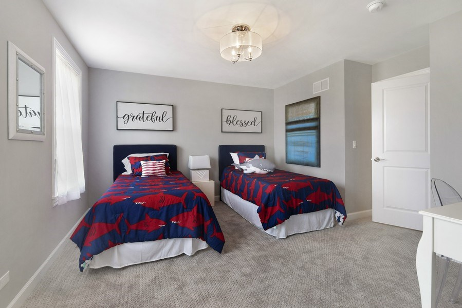 Real Estate Photography - 1235 Parker, Glenview, IL, 60025 - 2nd Bedroom