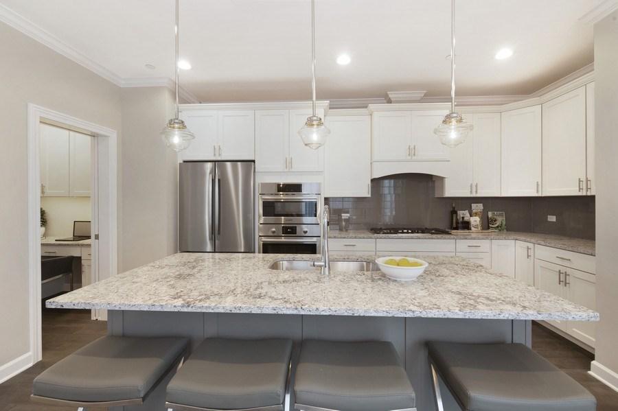 Real Estate Photography - 1235 Parker, Glenview, IL, 60025 - Kitchen