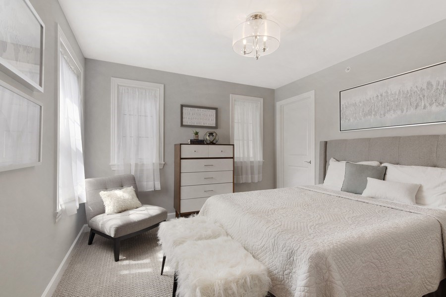 Real Estate Photography - 1235 Parker, Glenview, IL, 60025 - Bedroom
