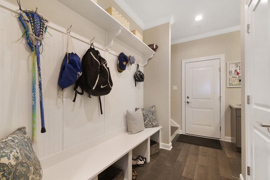 Real Estate Photography - 1235 Parker, Glenview, IL, 60025 - Mudroom