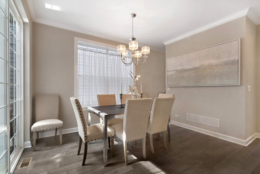 Real Estate Photography - 1235 Parker, Glenview, IL, 60025 - Dining Room