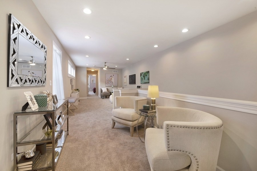 Real Estate Photography - 1235 Parker, Glenview, IL, 60025 - Family Room