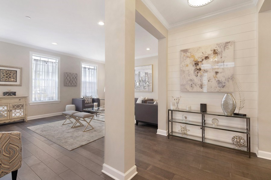 Real Estate Photography - 1235 Parker, Glenview, IL, 60025 - Foyer