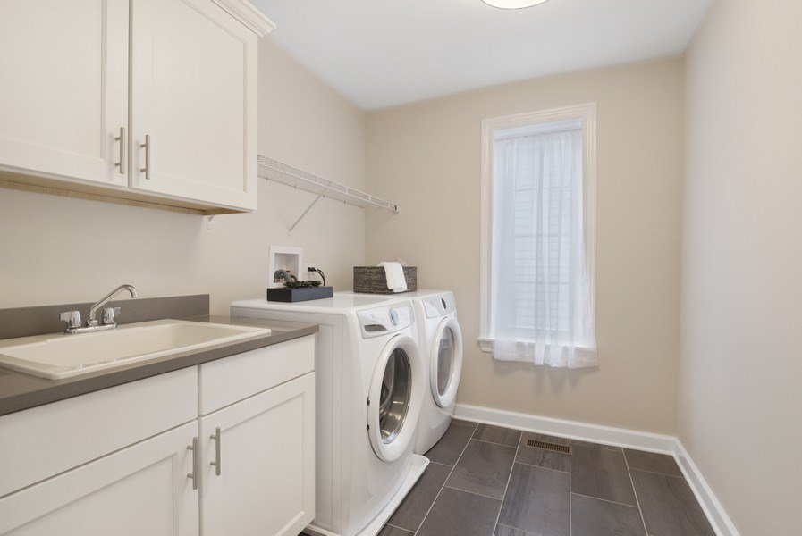 Real Estate Photography - 1235 Parker, Glenview, IL, 60025 - Laundry Room