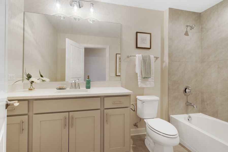 Real Estate Photography - 1235 Parker, Glenview, IL, 60025 - Bathroom