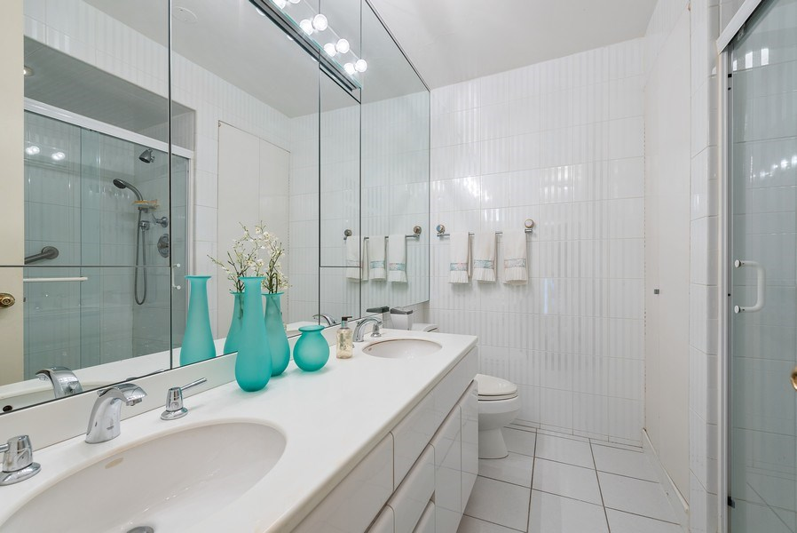 Real Estate Photography - 1240 N Lake Shore Dr, Unit 7A, Chicago, IL, 60610 - Master Bathroom