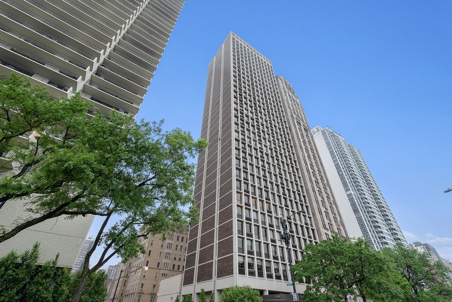 Real Estate Photography - 1240 N Lake Shore Dr, Unit 7A, Chicago, IL, 60610 - Front View