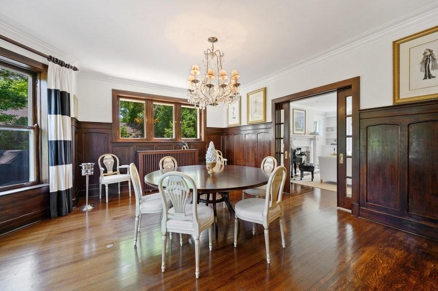 Real Estate Photography - 690 Elder, Winnetka, IL, 60091 - Dining Room