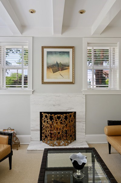 Real Estate Photography - 690 Elder, Winnetka, IL, 60091 - Family Room