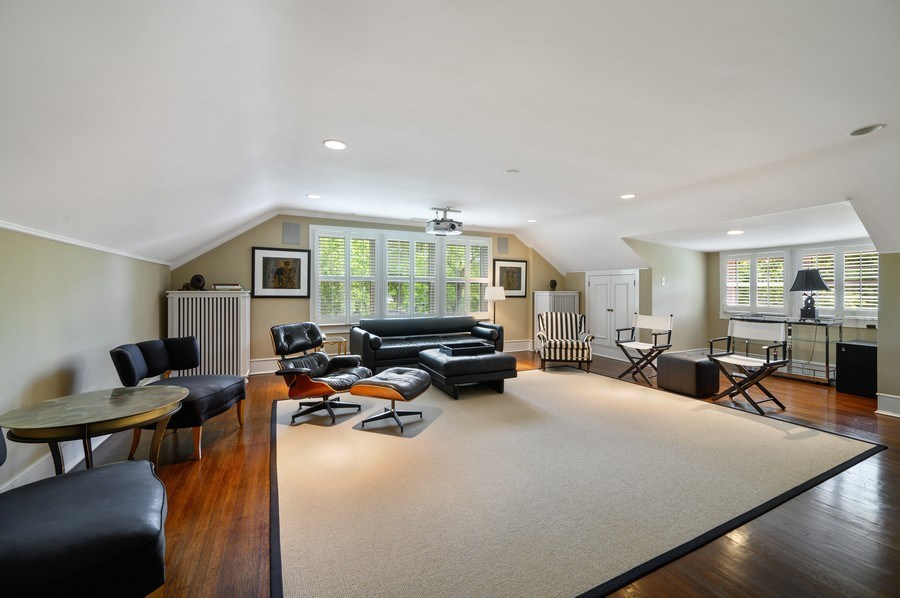 Real Estate Photography - 690 Elder, Winnetka, IL, 60091 - Theater