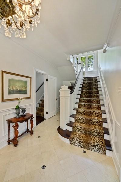 Real Estate Photography - 690 Elder, Winnetka, IL, 60091 - Staircase