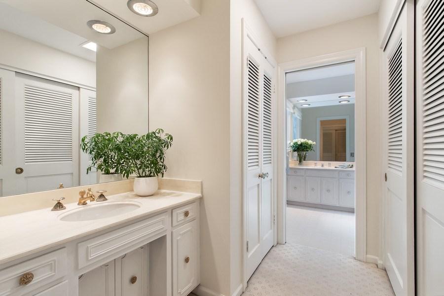Real Estate Photography - 417 Pebblebrook Rd, Northbrook, IL, 60062 - Master Bathroom