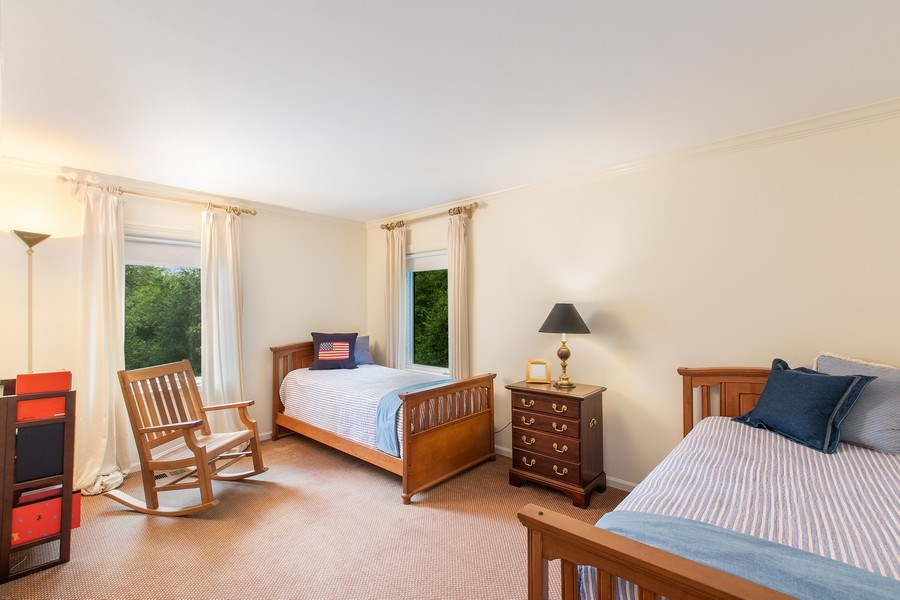 Real Estate Photography - 417 Pebblebrook Rd, Northbrook, IL, 60062 - 4th Bedroom
