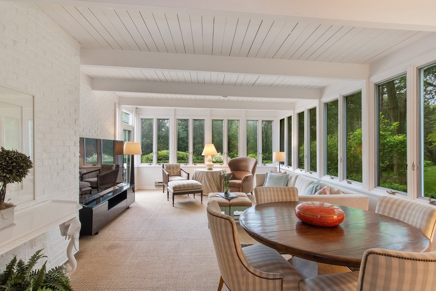 Real Estate Photography - 417 Pebblebrook Rd, Northbrook, IL, 60062 - Sun Room
