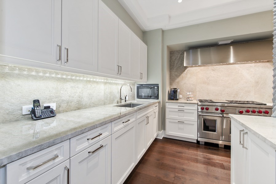 Real Estate Photography - 118 E. Erie #30G, Chicago, IL, 60611 - Kitchen