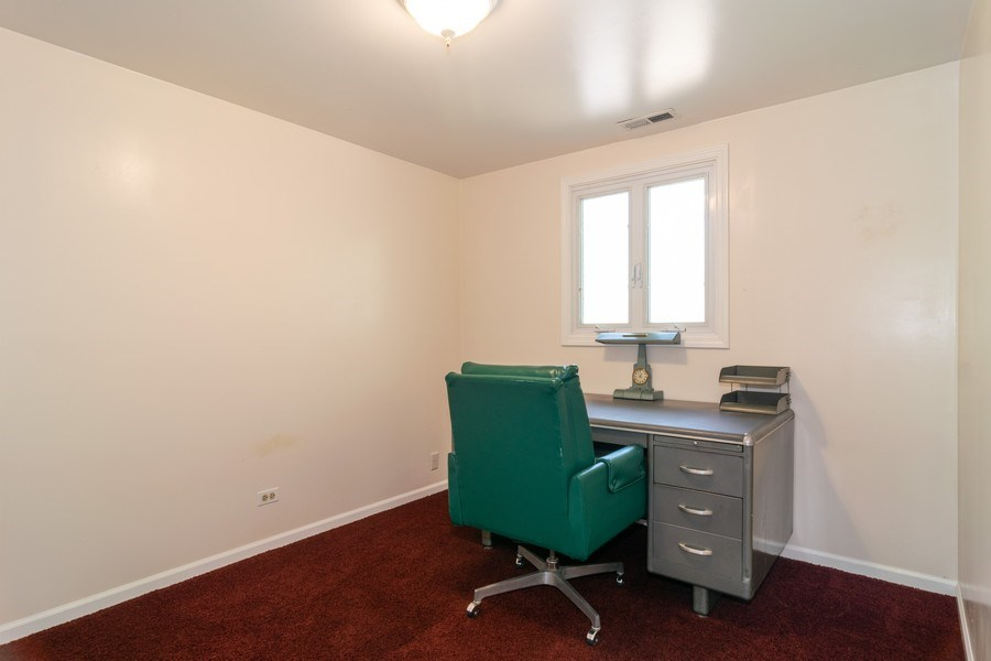 Real Estate Photography - 276 Hill Ave, Bartlett, IL, 60103 - Office
