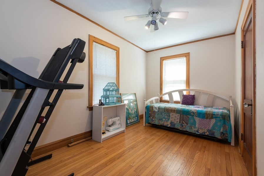 Real Estate Photography - 2323 Cowper Ave., Evanston, IL, 60201 - 3rd Bedroom