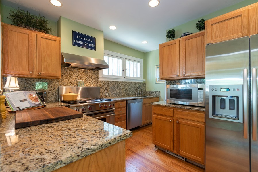Real Estate Photography - 2323 Cowper Ave., Evanston, IL, 60201 - Kitchen