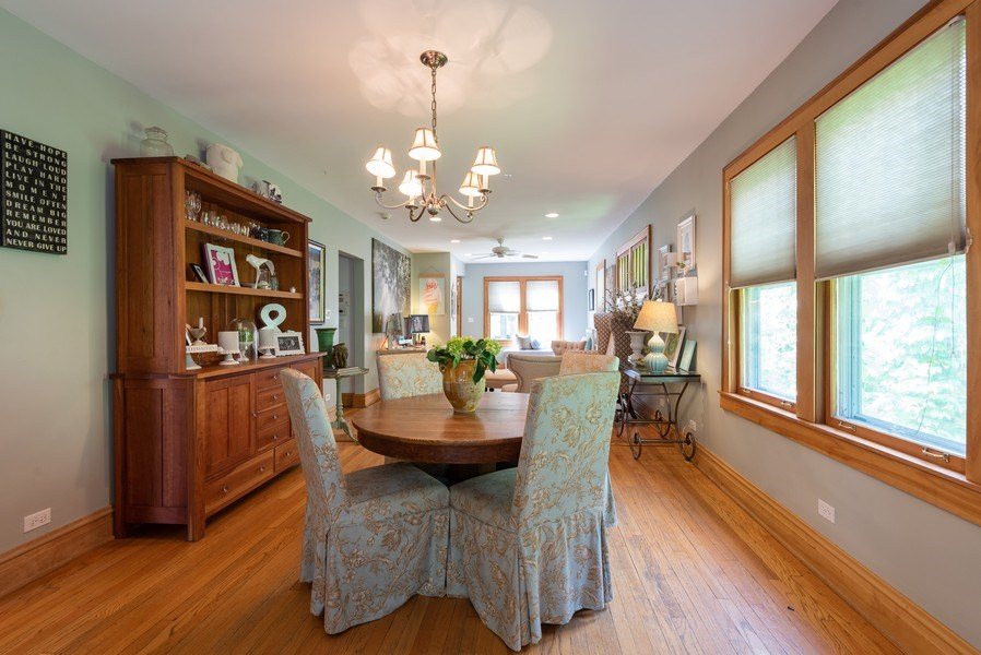 Real Estate Photography - 2323 Cowper Ave., Evanston, IL, 60201 - Dining Room