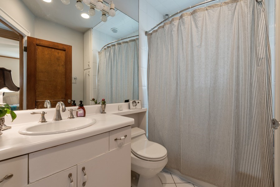 Real Estate Photography - 2323 Cowper Ave., Evanston, IL, 60201 - Bathroom