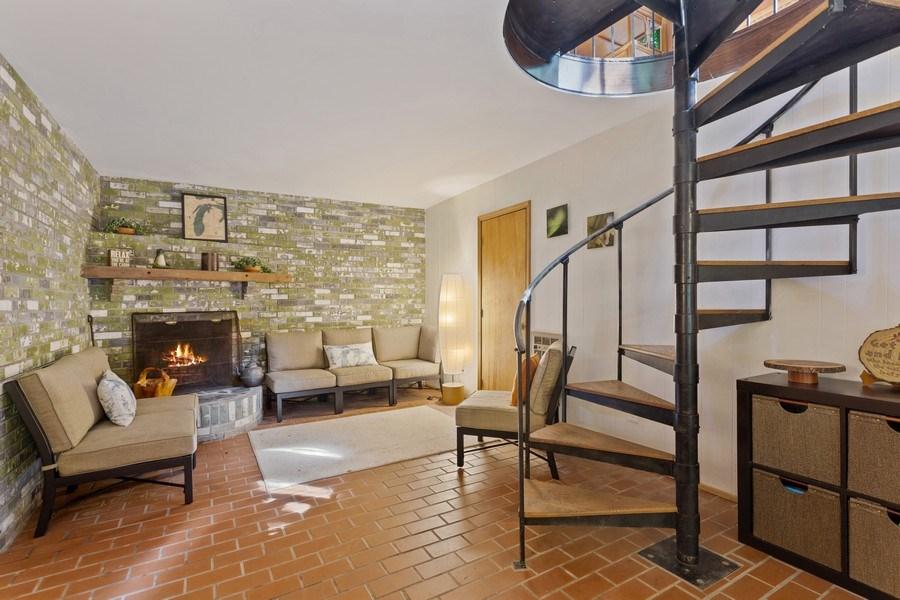 Real Estate Photography - 4534 Iler Dr, Bridgman, MI, 49106 - Living Room