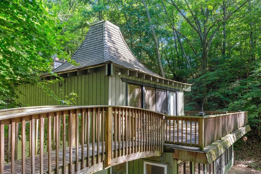 Real Estate Photography - 4534 Iler Dr, Bridgman, MI, 49106 - Deck Space