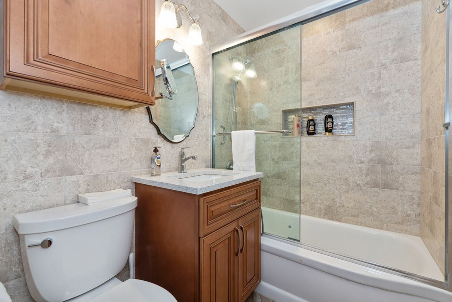 Real Estate Photography - 816 Sandra Ln., Fox River Grove, IL, 60021 - Bathroom