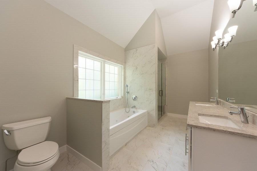 Real Estate Photography - 841, Maple, Palatine, IL, 60067 - Master Bathroom