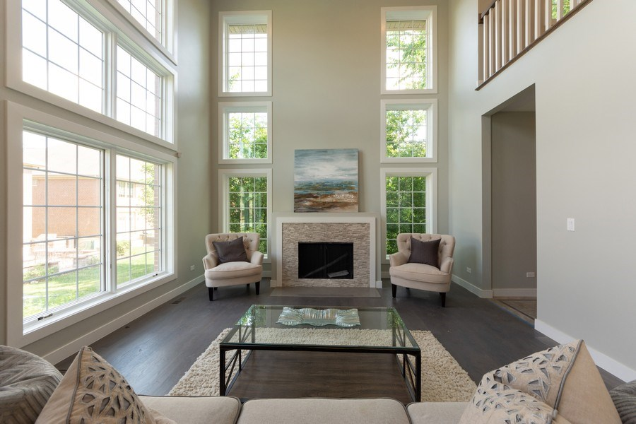 Real Estate Photography - 841, Maple, Palatine, IL, 60067 - Living Room