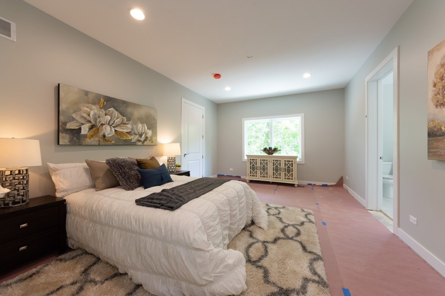 Real Estate Photography - 841, Maple, Palatine, IL, 60067 - Master Bedroom