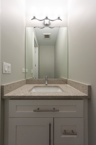 Real Estate Photography - 841, Maple, Palatine, IL, 60067 - Powder Room