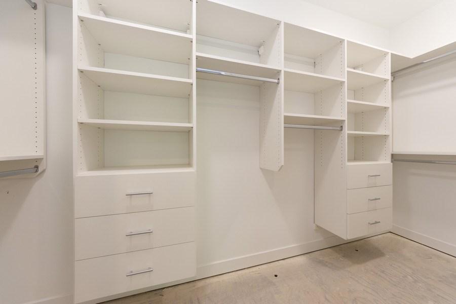 Real Estate Photography - 841, Maple, Palatine, IL, 60067 - Master Bedroom Closet