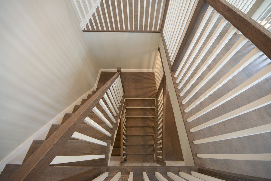Real Estate Photography - 841, Maple, Palatine, IL, 60067 - Staircase