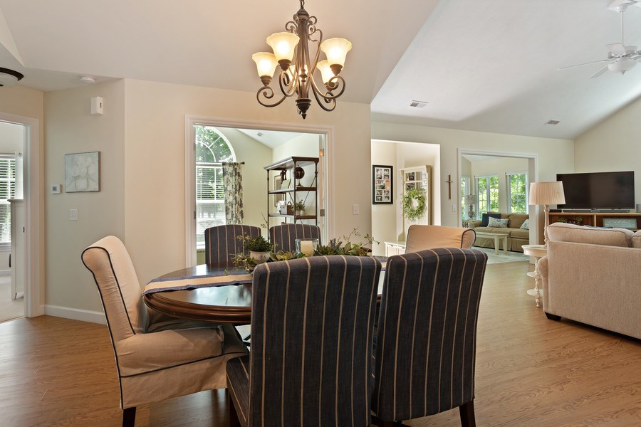 Real Estate Photography - 3072 Riverview Lane, Benton Harbor, MI, 49022 - Dining Room