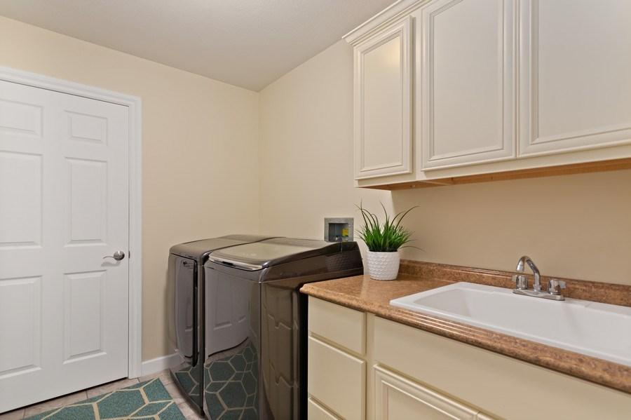 Real Estate Photography - 3072 Riverview Lane, Benton Harbor, MI, 49022 - Laundry Room