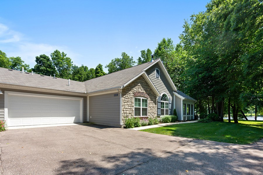 Real Estate Photography - 3072 Riverview Lane, Benton Harbor, MI, 49022 - Rear View