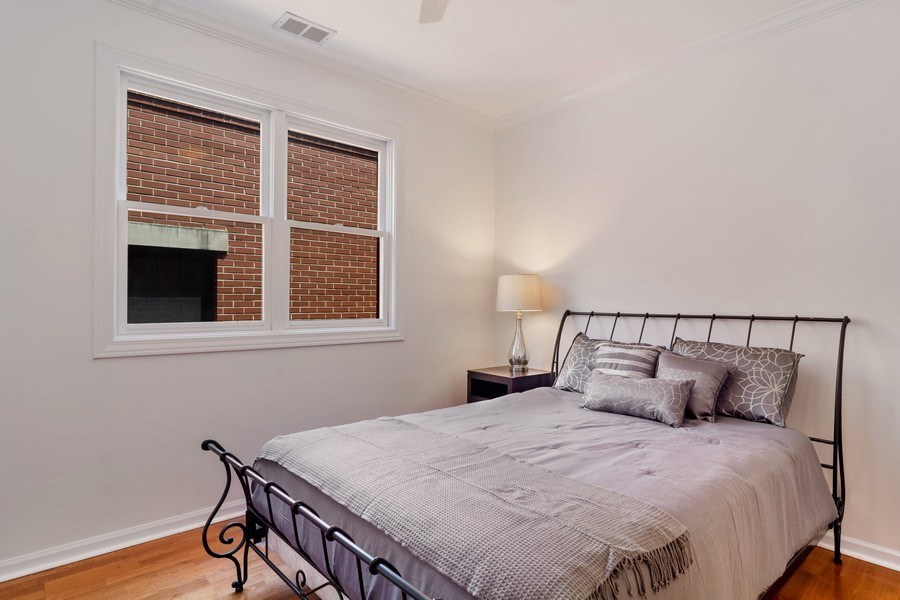 Real Estate Photography - 1123 W Altgeld St, Unit C, Chicago, IL, 60614 - 2nd Bedroom