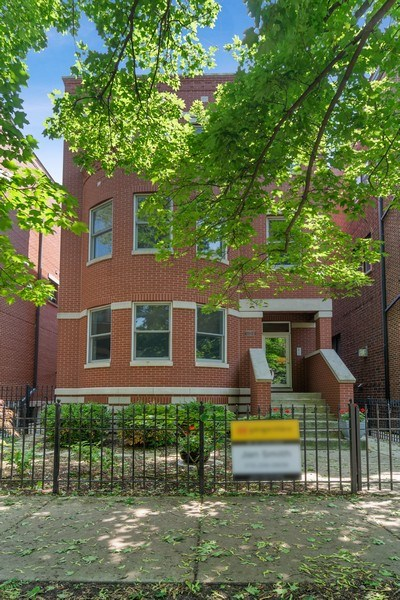 Real Estate Photography - 1123 W Altgeld St, Unit C, Chicago, IL, 60614 - Front View